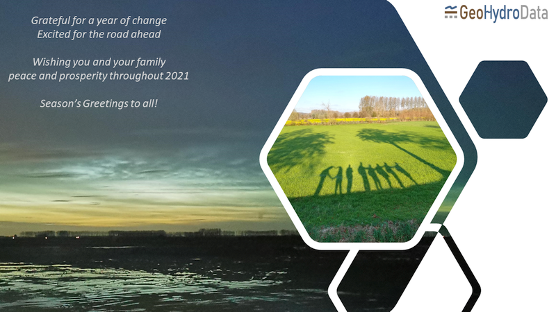 Season's greetings and best wishes from GeoHydroData!